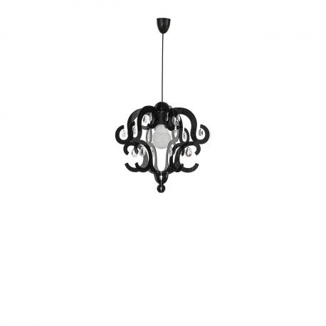Závesná lampa Katerina Black I 5211