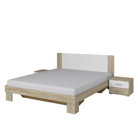 Manželská posteľ s nočnými stolíkmi Vera VE51/52