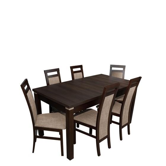 Stôl a stoličky pre 6 osôb - RK025