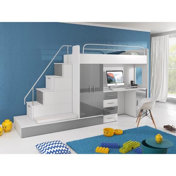 Detská multifunkčná posteľ Paradise 5