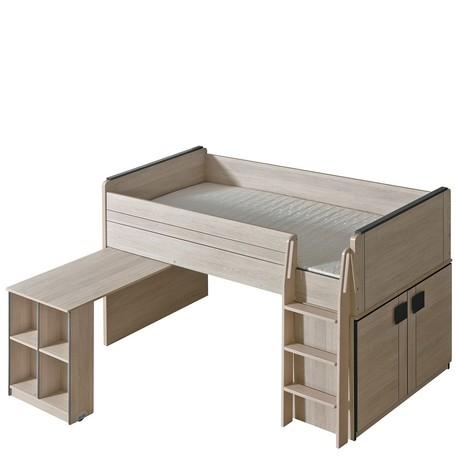 Detská posteľ s písacím stolom Zumino Z15