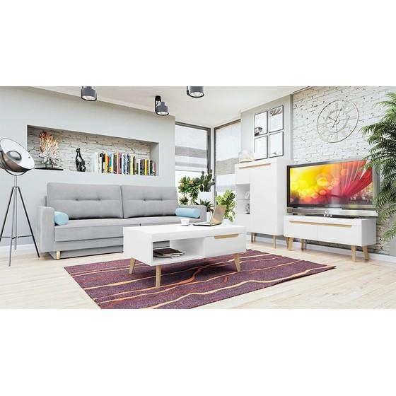 Sada nábytku do obývacej izby Nirus V + pohovka Mosol