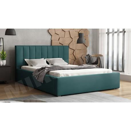 Čalúnená posteľ s úložným priestorom a roštom Sonden