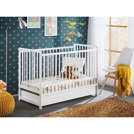 Detská posteľ s matracom Liatra II Plus 120x60
