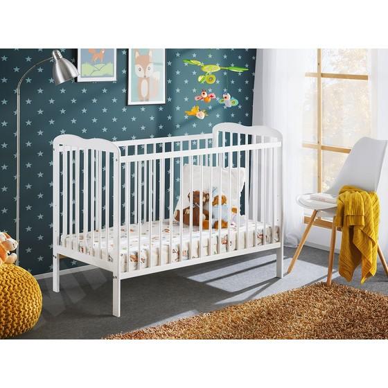 Detská postieľka s matracom Provence II Plus 120x60