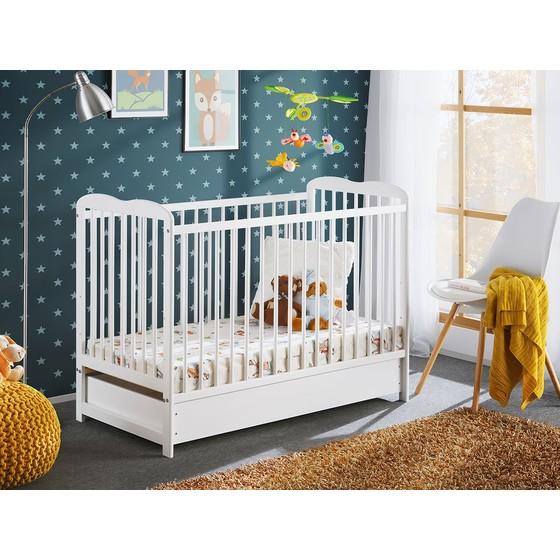 Detská postieľka s matracom Prowansja II Plus 120x60