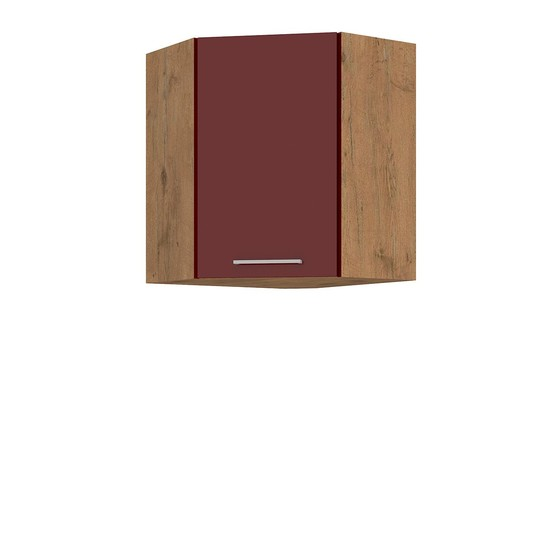 Horná rohová kuchynská skrinka Woodline 58x58 GN-72 1F