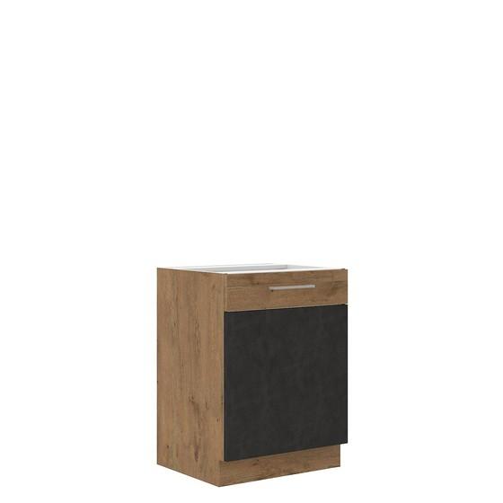 Dolná kuchynská skrinka Woodline 60 D 1F BB