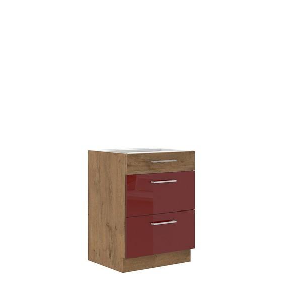 Dolná kuchynká skrinka Woodline 60 D 3S BB