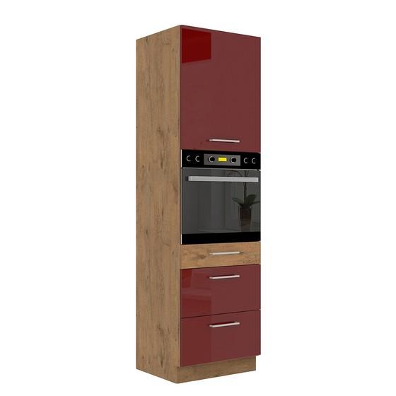 Kuchynská skrinka so zásuvkami Woodline 60 DPS-210 3S 1F