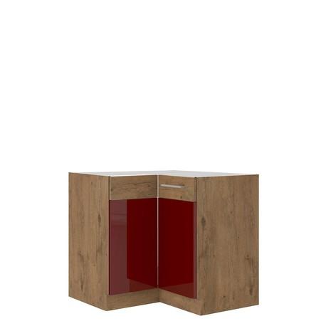 Dolná rohová kuchynská skrinka Woodline 89x89 DN 1F BB