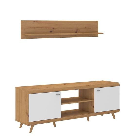 TV stolík Green 2D + polička Green ARWH 02