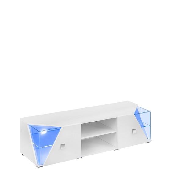 TV stolík s LED osvetlením Ozzy