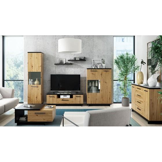 Nábytok do obývačky Mins VII