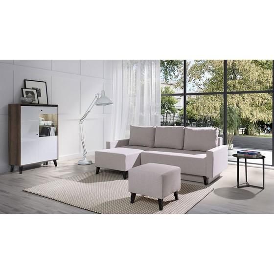 Nábytok do obývacej izby s pohovkou Naviedo Gloss IV