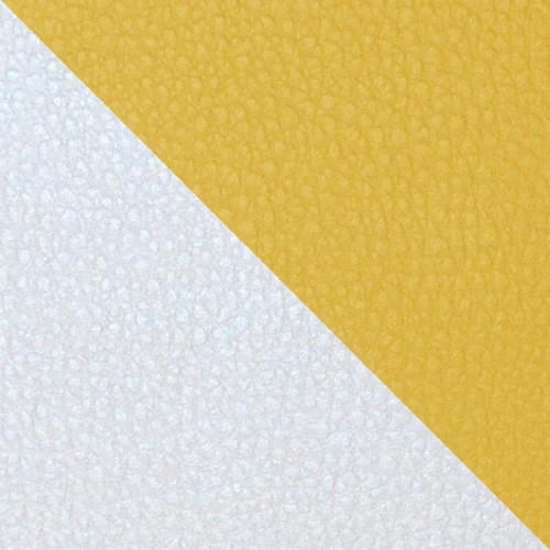 football - biela / žltá
