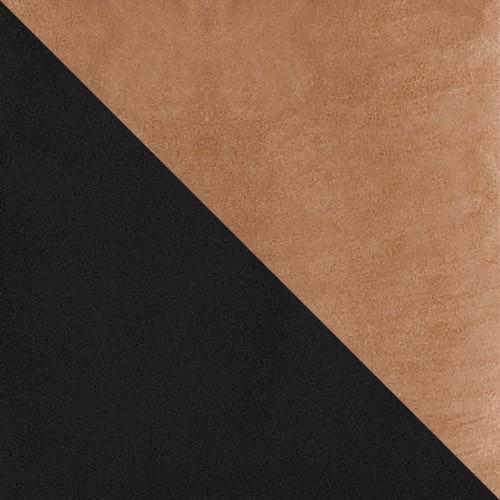 čierna / svetlý hnedý