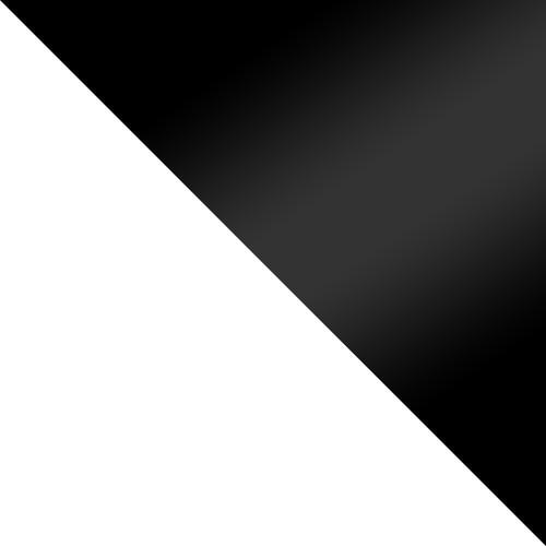 biely / čierny lesk