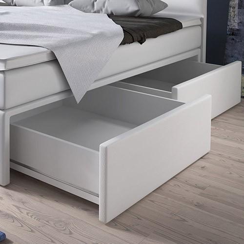 č. 4 - 2 šuplíky - zásuvky pod posteľou