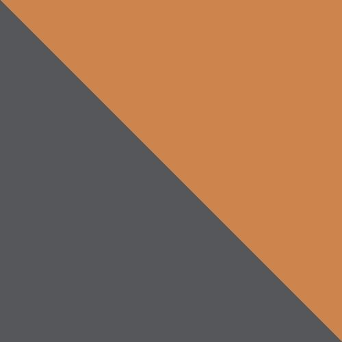 grafit / oranžový