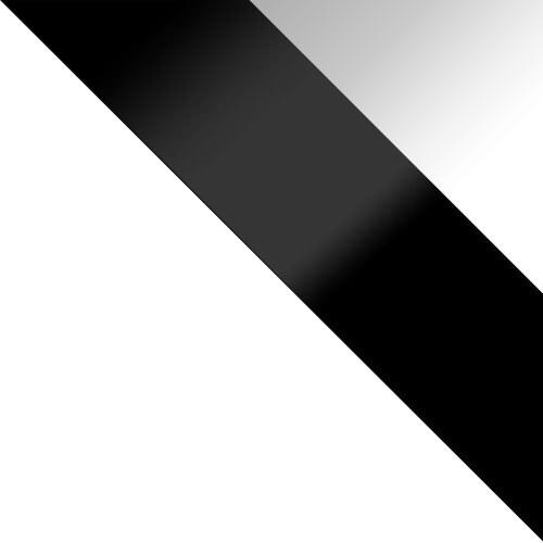 korpus: biela, dvere: čierny lesk, zásuvka: biely lesk
