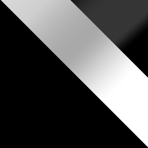 korpus: čierny , dvere: biely lesk, zásuvka: čierny lesk
