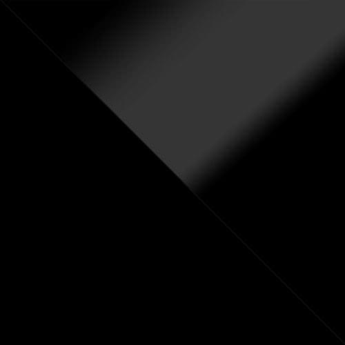 korpus: čierny, dvere: čierny lesk, zásuvka: čierny lesk