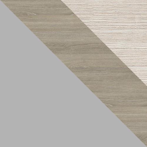 šedá platina / hiteak / pracovná doska: borovica biela
