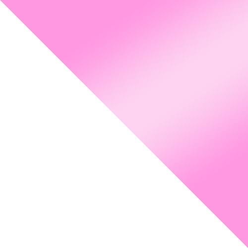 biela / ružová lesk