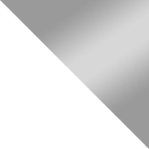 biela / šedý lesk