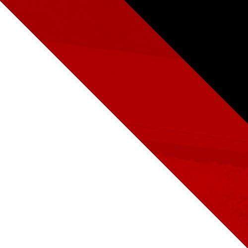 biela / červený lesk + čierny lesk