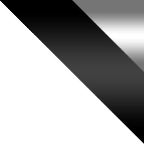 biela / čierny lesk + zrkadlo