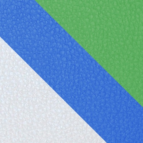 volleyball - biely / modrá / zelená