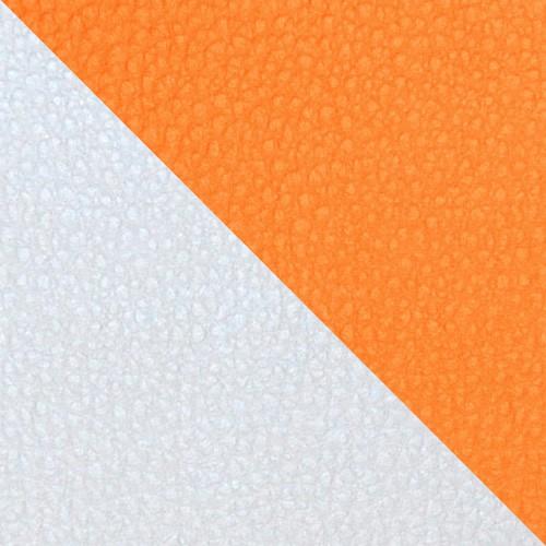 football - biela / oranžová